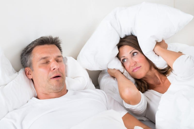 Sleep apnea is common in snorers