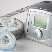 CPAP machine, mask and hose
