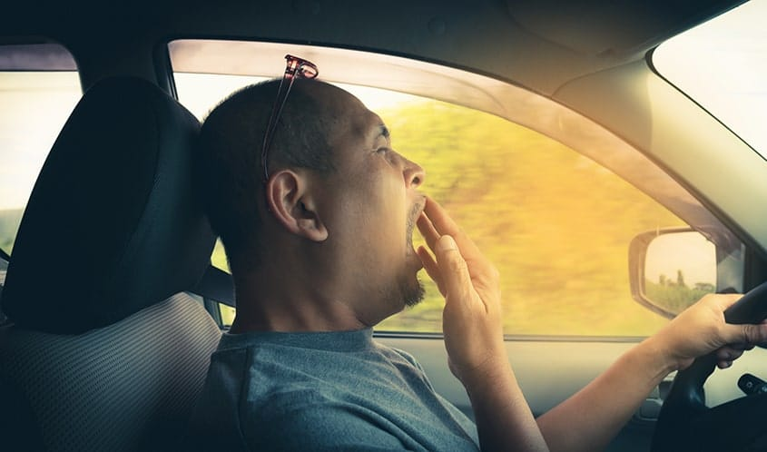 Drowsy Driving Is Like Drunk Driving