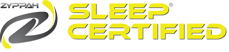 Zyppah sleep certified logo.